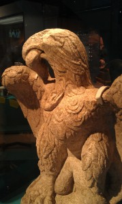 Roman Eagle discovered in London