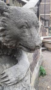 Ornamental stone bear