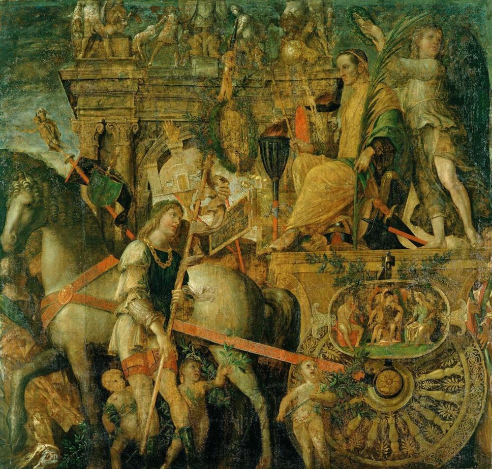 The Triumphs of Caesar by Andrea Mantegna (1484-1492)