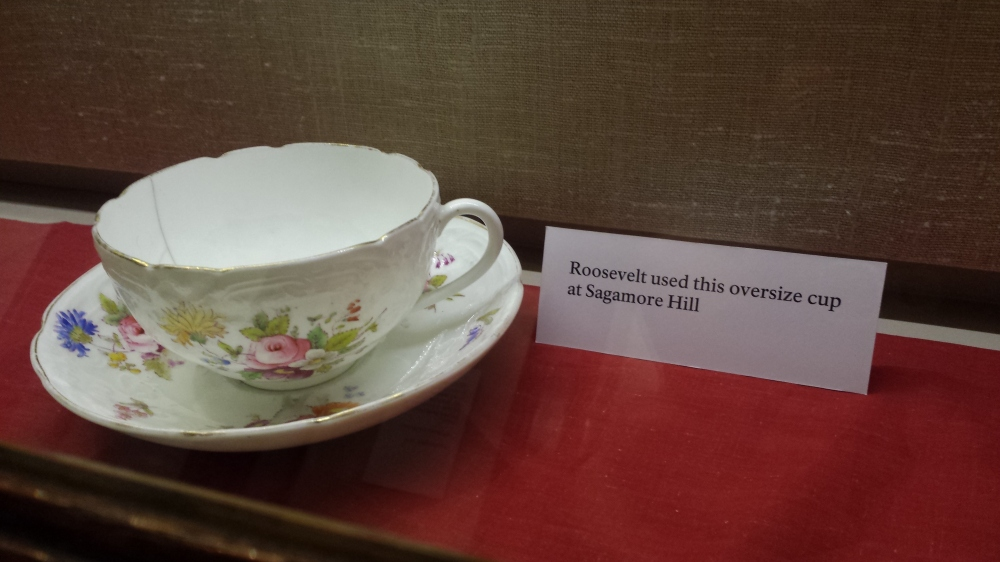 A giant sized Roosevelt tea cup